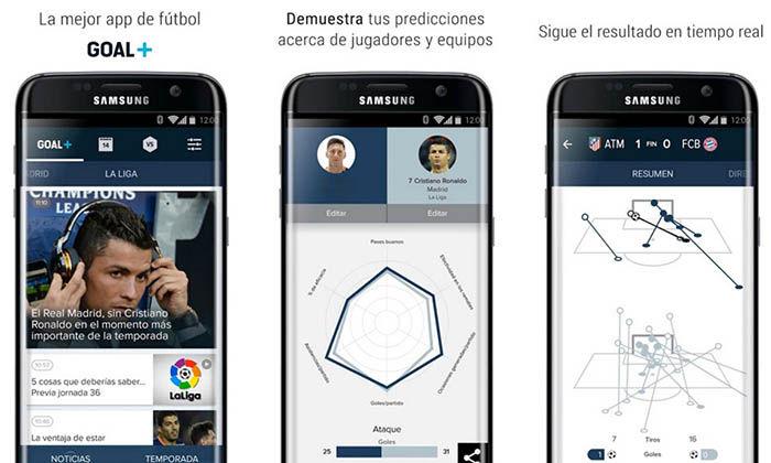 Goal Plus Samsung