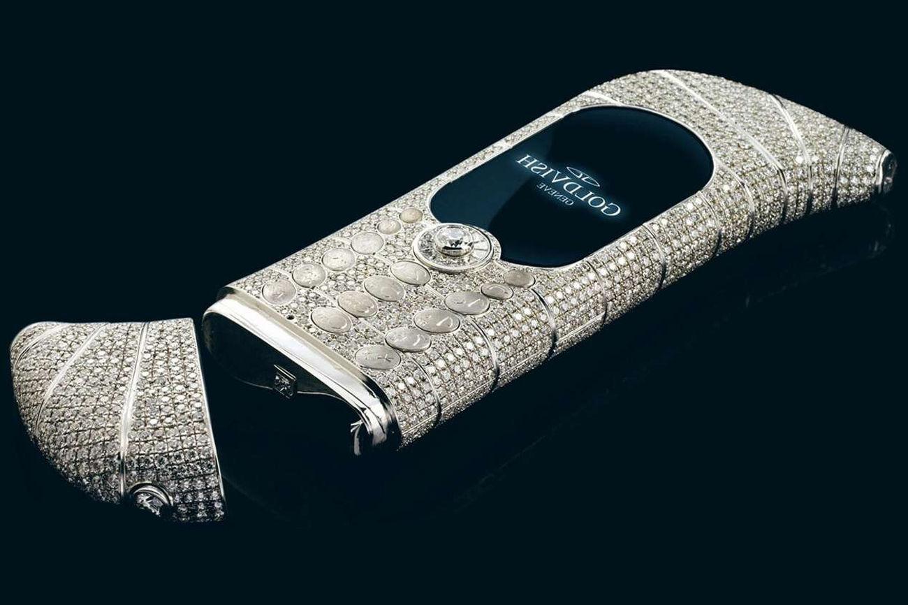 Goldvish le Million, el móvil más extraño del mundo jamás creado