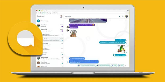 Google Allo version web