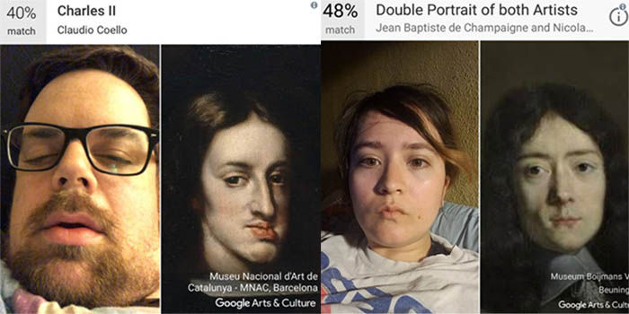 Google Arts y Culture compara tus fotos