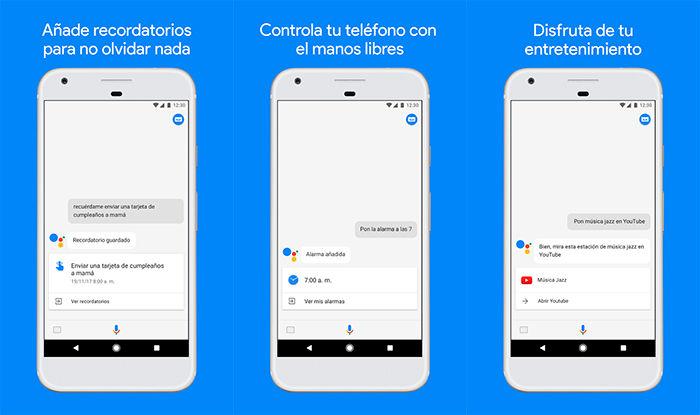 Google Assistant en Google Play 2