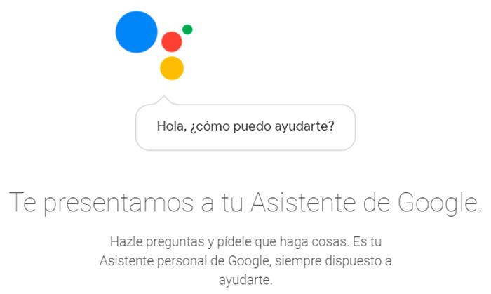Google Assistant en espanol comandos