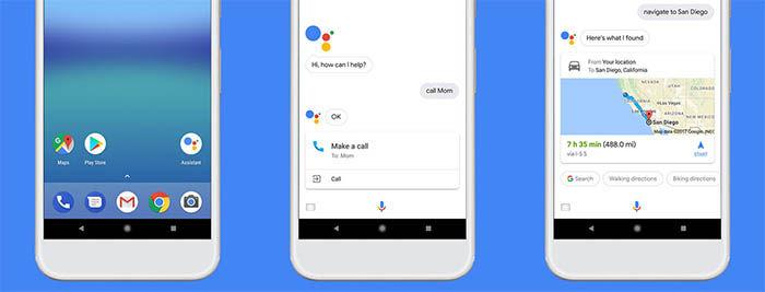 Google Assistant en los dispositivos