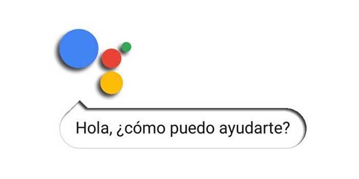 Google Assistant hablando en espanol