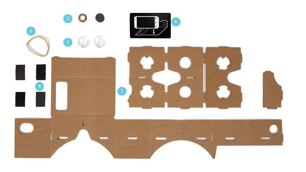 Google Cardboard casero