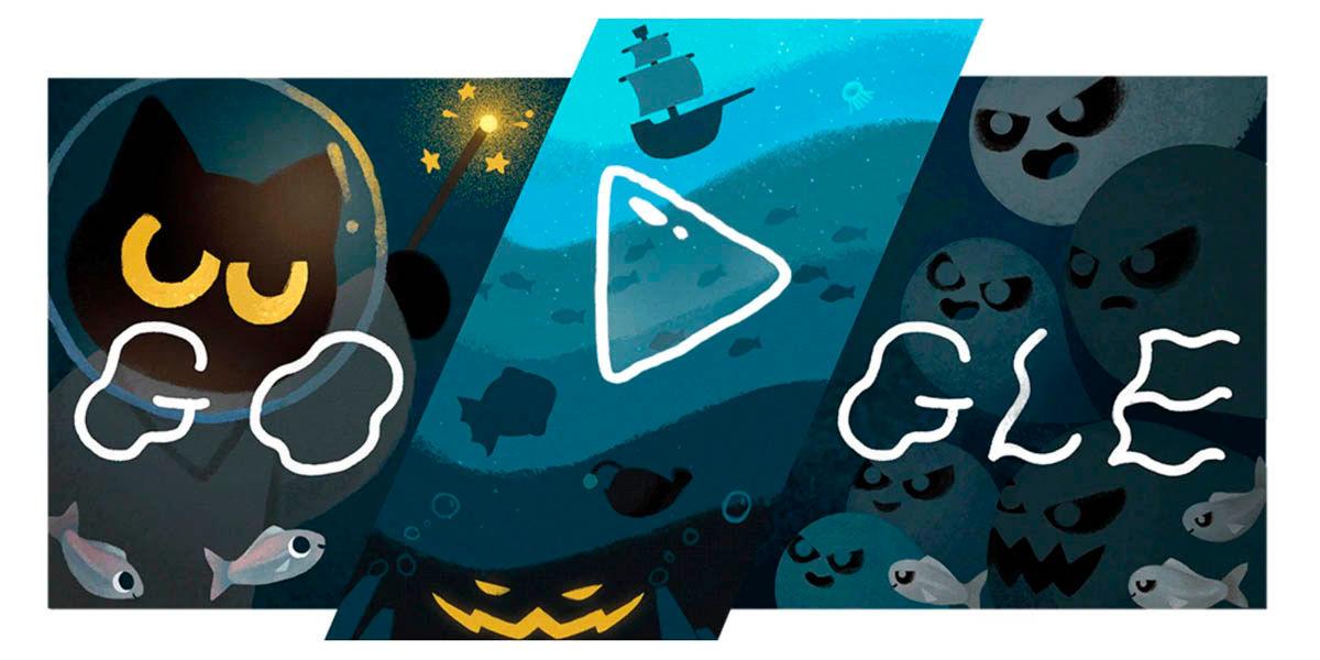 Google Doodle Halloween 2020