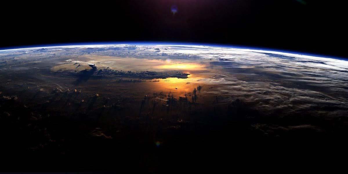 Imagen de la tierra en Google Earth
