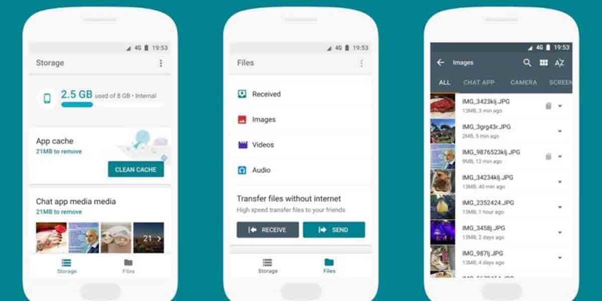 Google Files libera espacio en Android