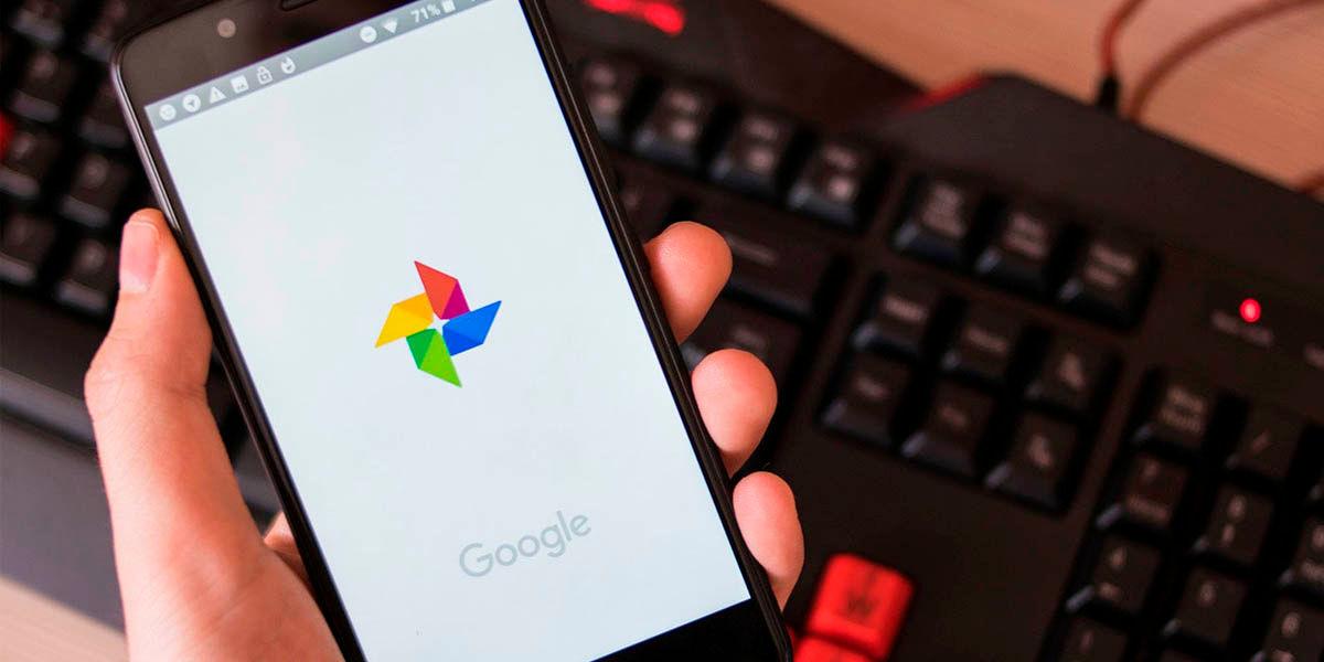 Google Fotos aplicacion galeria 2020