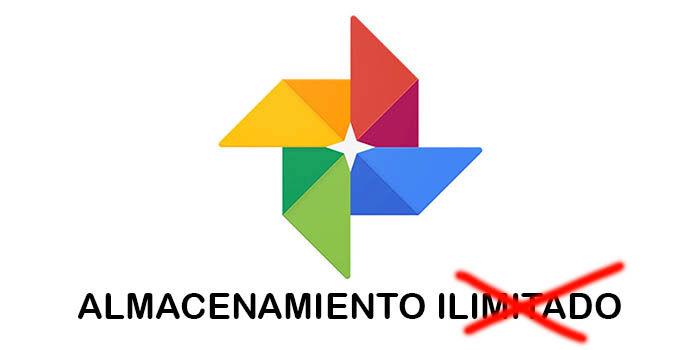 Google Fotos no tiene almacenamiento ilimitado