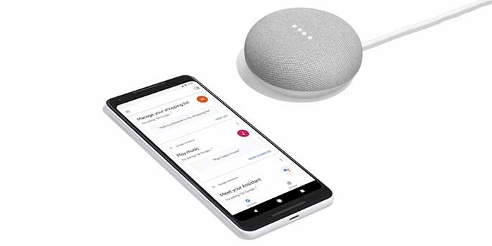 Google Home Mini App