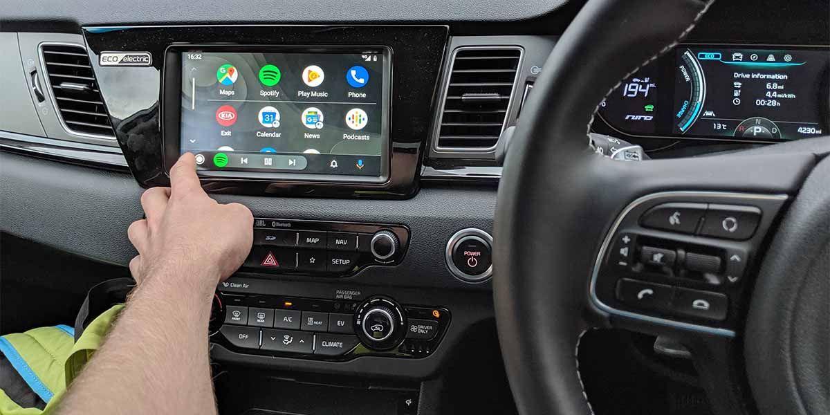 Google Maps Android Auto sirven conducir izquierda