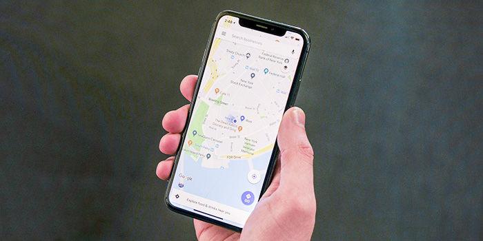Google Maps borrar historial