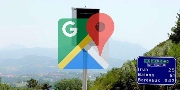 Google Maps con radares