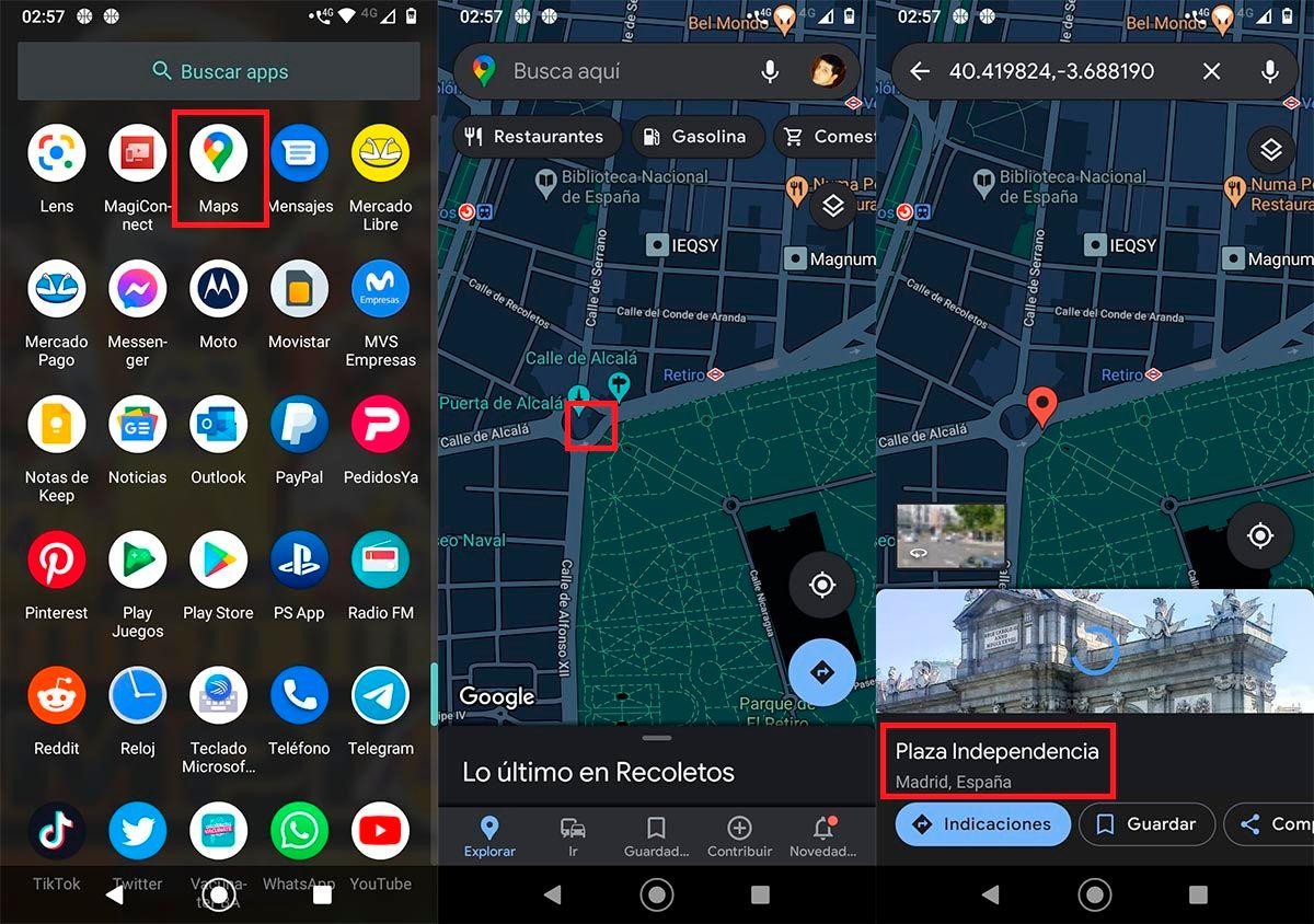 Google Maps distancia
