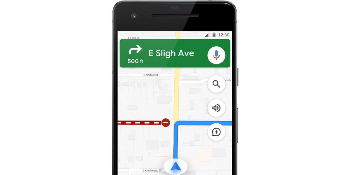 Google Maps interfaz nueva