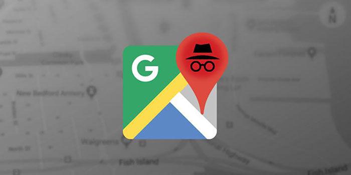 Google Maps modo incognito