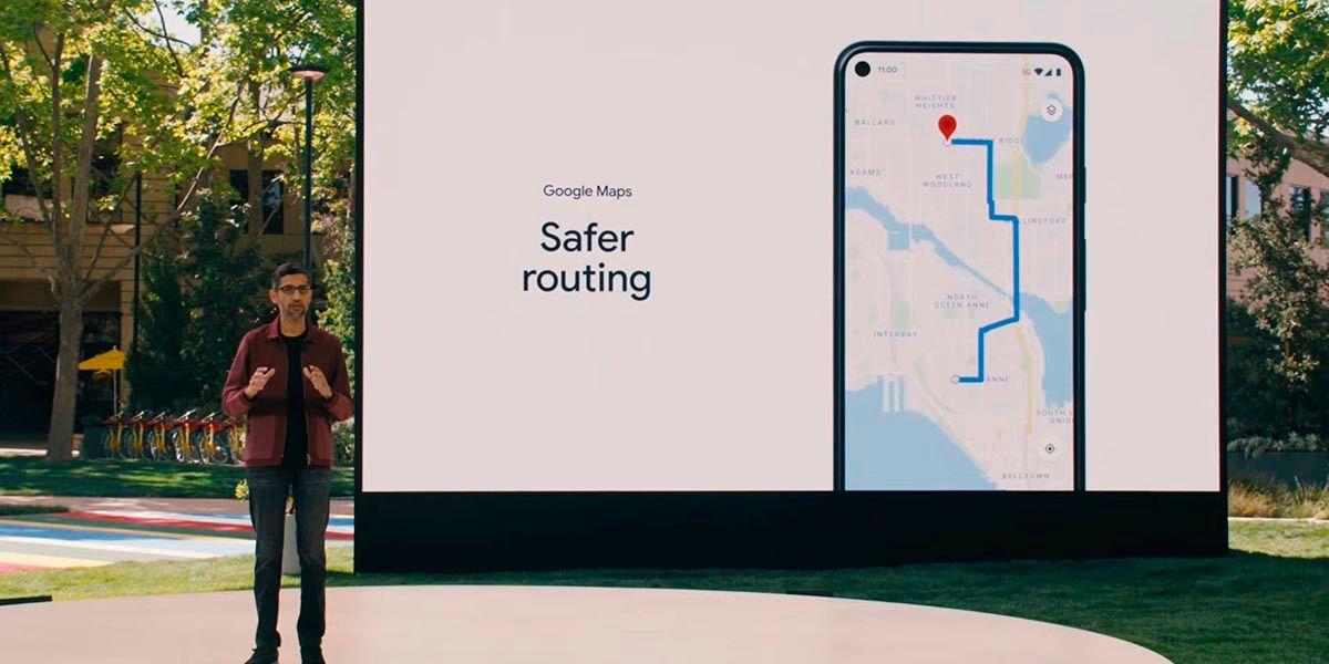 Google Maps ofrecera rutas seguras y eco friendly