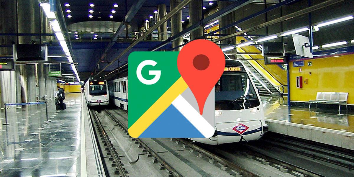 Google Maps retrasos y aglomeraciones