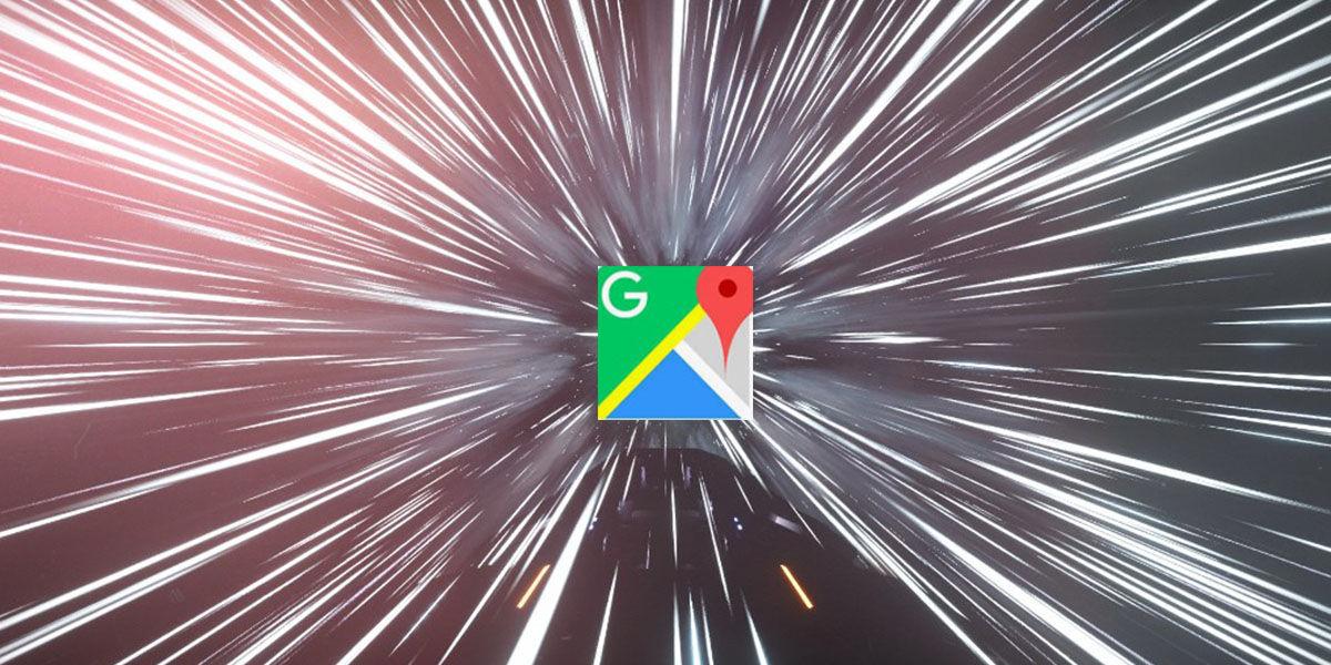 Google Maps te lleva al hiperespacio