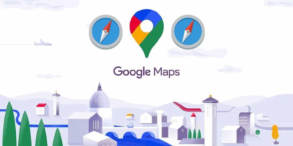 Google Maps vuelve a tener brújula