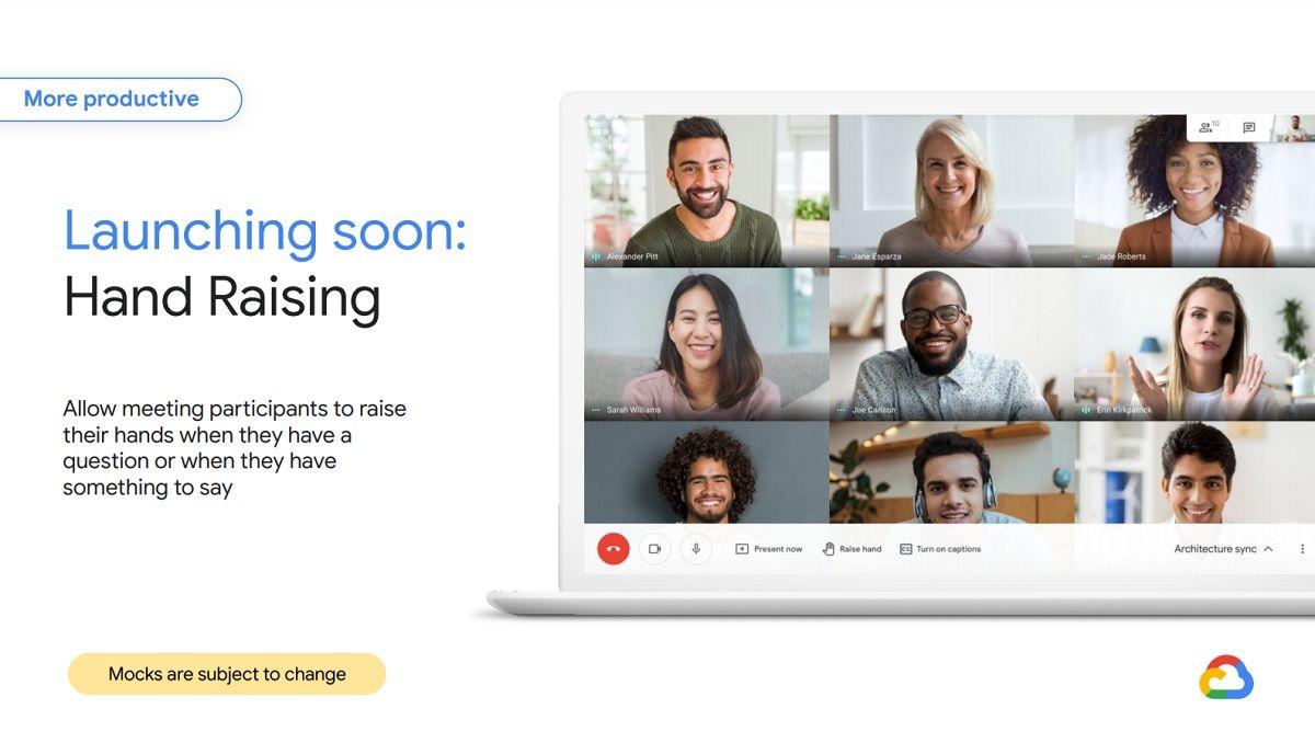 Google Meet llega con increibles mejoras
