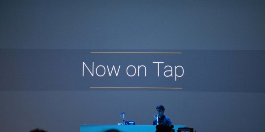 Google Now on Tap en Lollipop