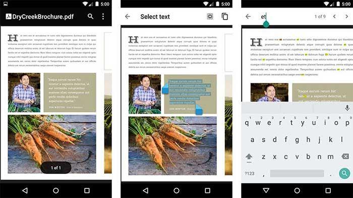 Google PDF Viewer para Android