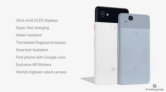 Google Pixel 2 caracteristicas