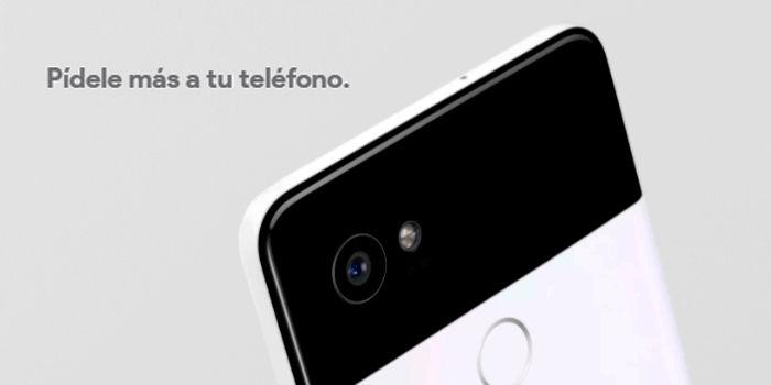 Google Pixel 2 gesto para la camara