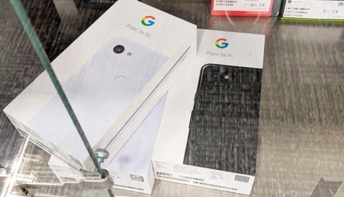 Google Pixel 3a XL vitrina