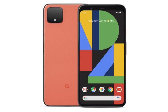 Google Pixel 4 interfaz