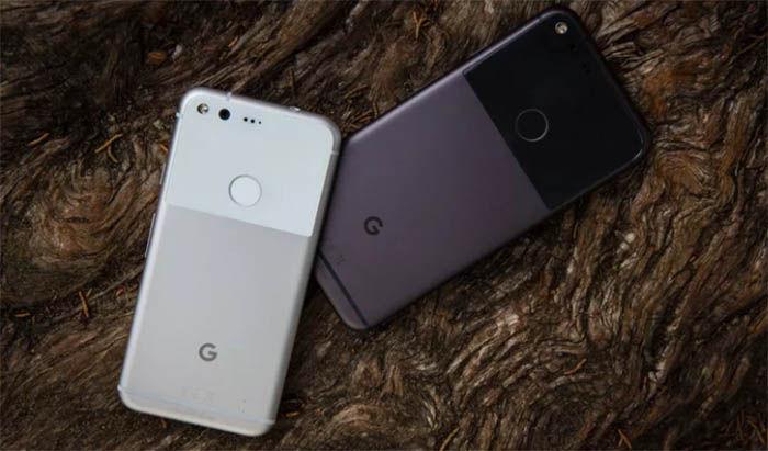 Google Pixel XL parte trasera