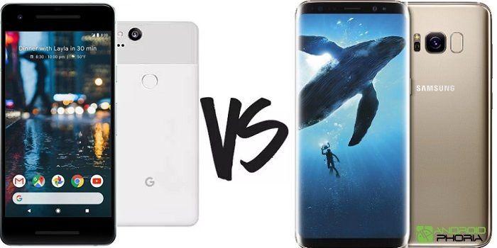 Google Pixel 2 vs Galaxy S8 comparativa