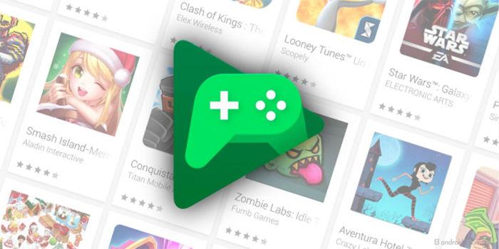 Google Play Juegos modo oscuro