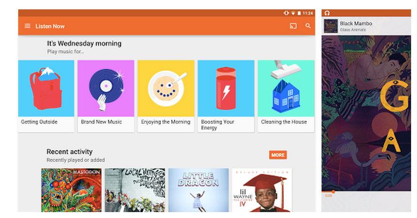 Google Play Music mejora su compatibilidad con Chromecast