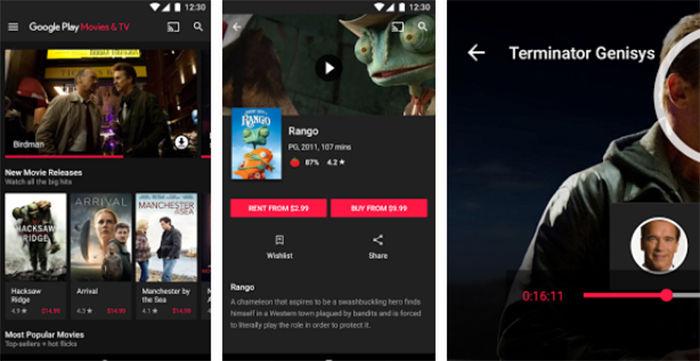 Google Play Películas para Android