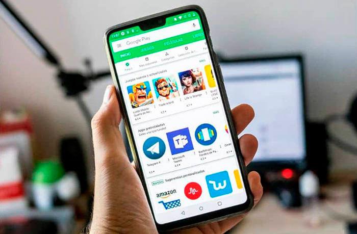 Google Play Store consumo de bateria