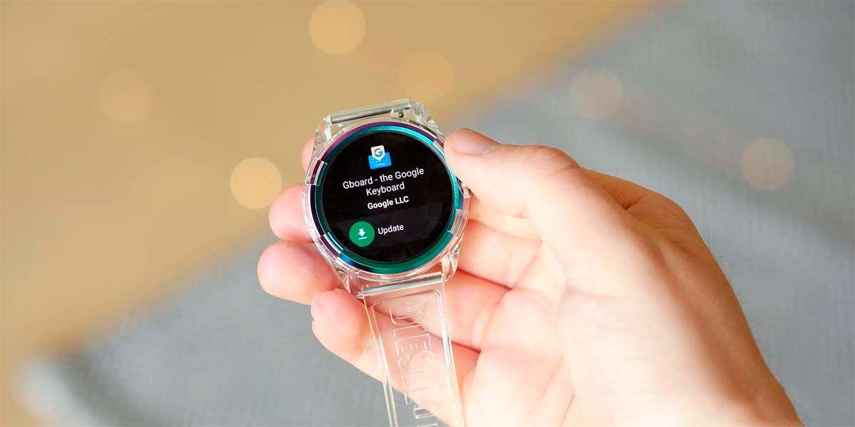 Google Play Store instalar apps Wear OS con móvil
