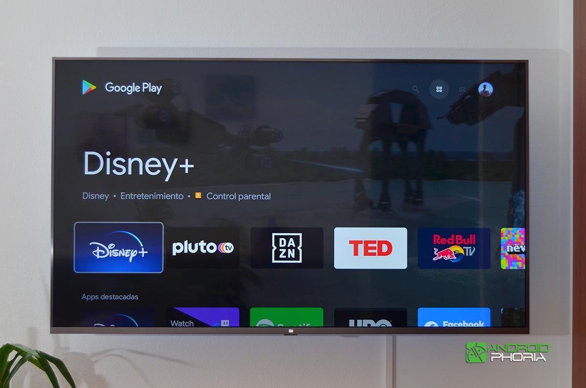 Google Play Xiaomi Mi TV 4S 55