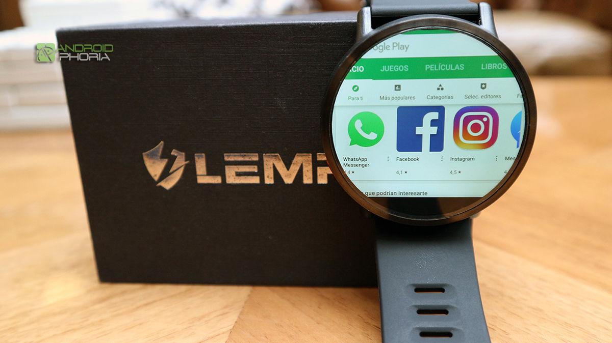 Google Play en Lemfo Lemx