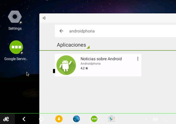 Google Play en Remix OS