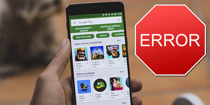 Google Play error 971