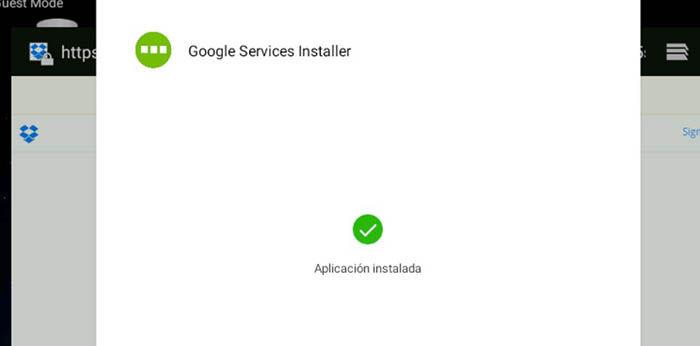 Google Services Installer