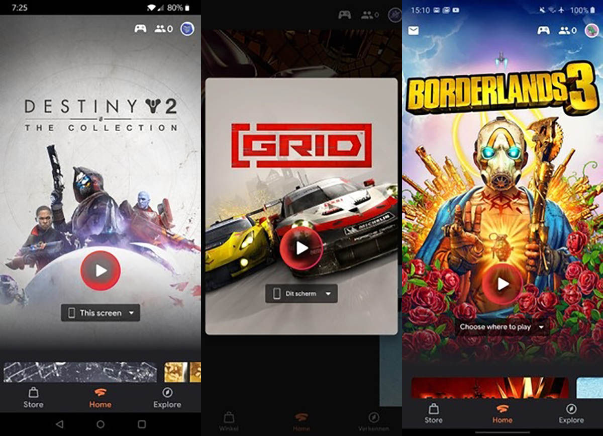 Google Stadia compatible moviles Android