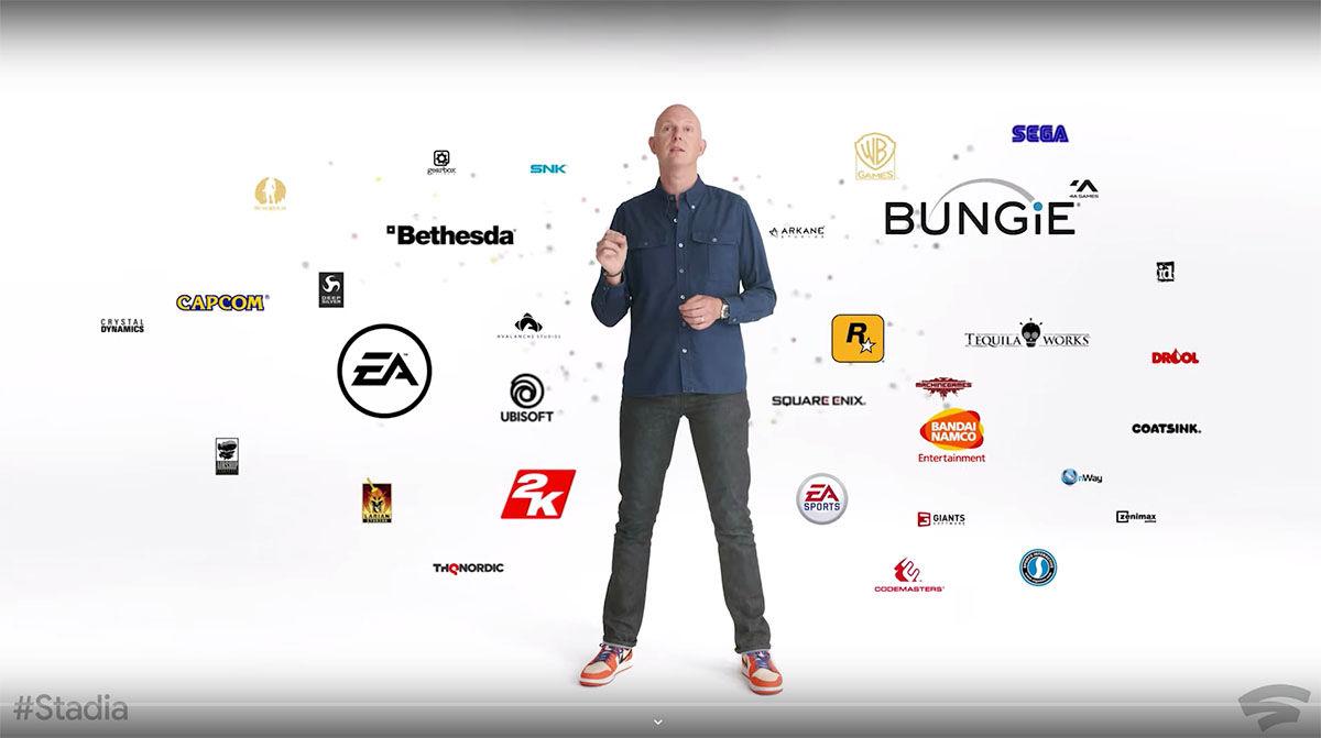 Google Stadia lista de juegos