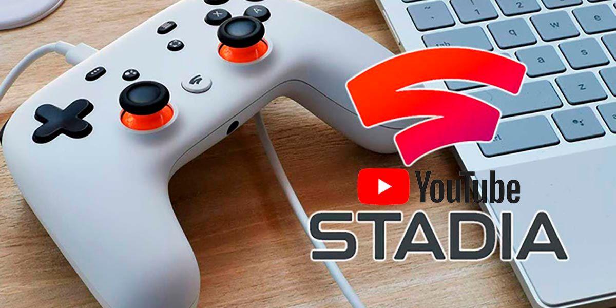 Google Stadia ya permite transmitir en YouTube