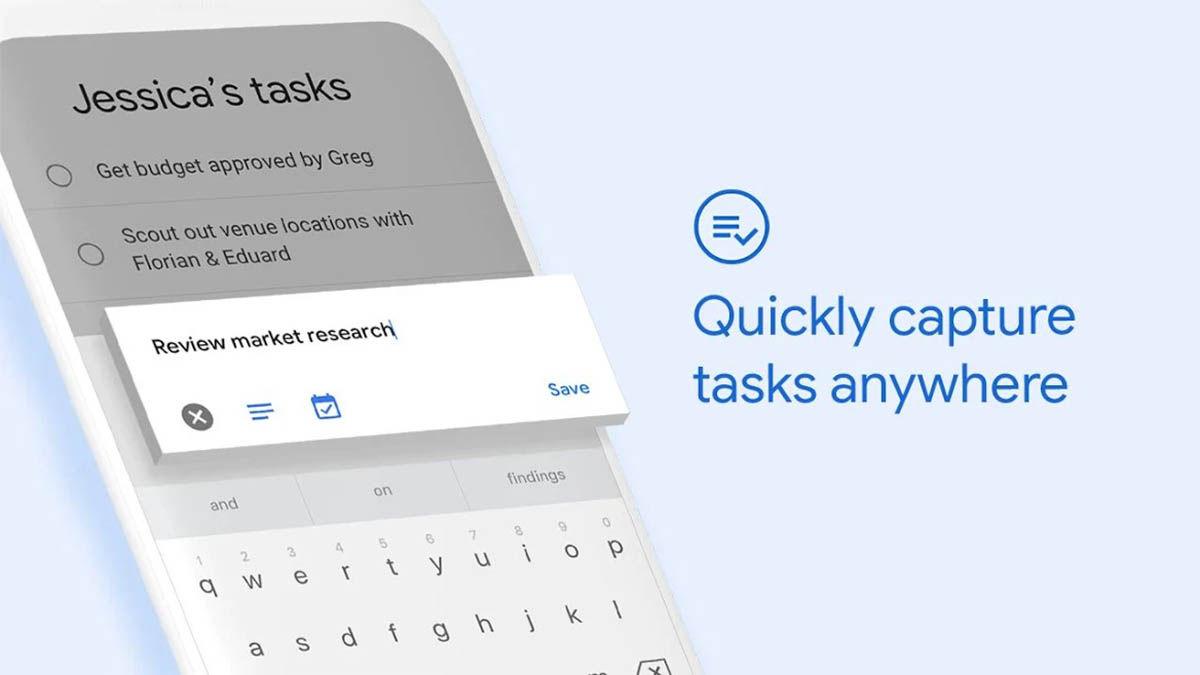 Google Taks capturas