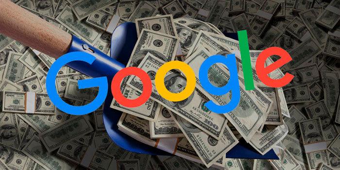 Google esta regalando dinero