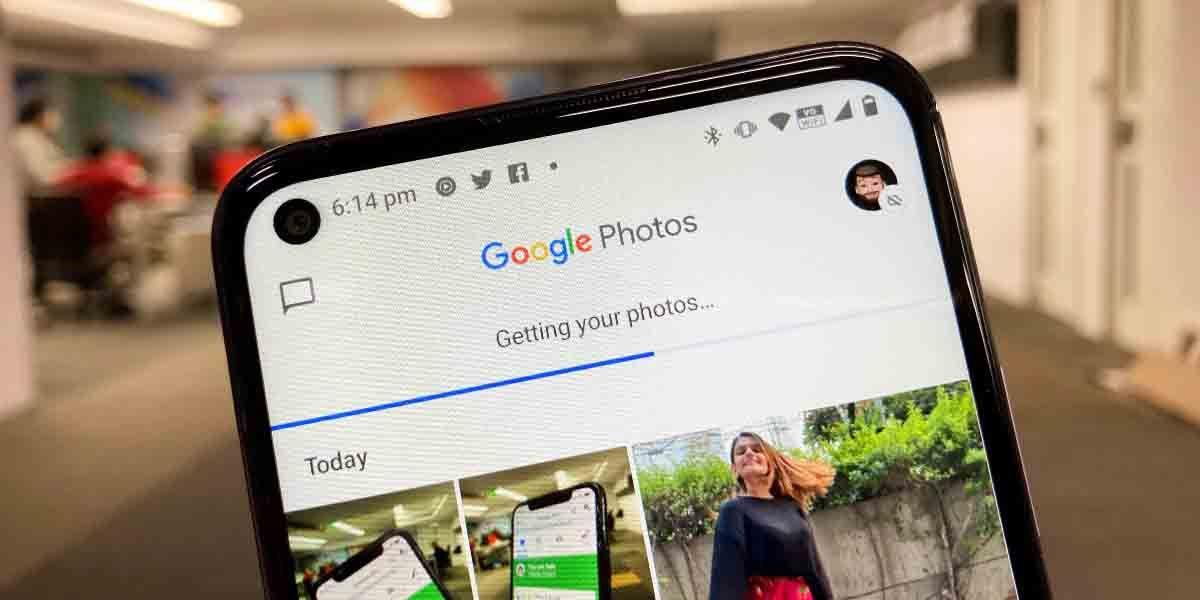 Google fotos crea carpeta segura